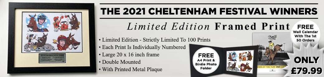 Ltd Edition Cheltenham 2021 Print