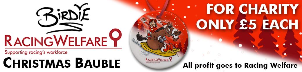 Racing Welfare Christmas Bauble